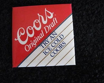 """Coors Pin 2"""" 1988 CL9-28"""