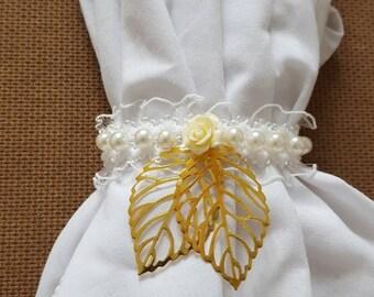 wedding napkin rings