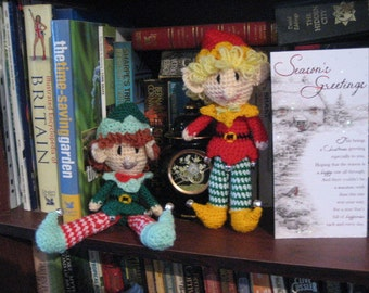 "10"" Tall Christmas Shelf Elf"