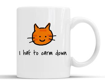 Terry Barlow mug cat