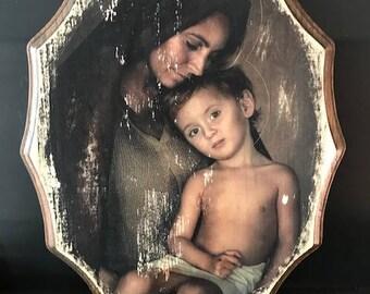 St. Elizabeth and John the Baptist Plaque