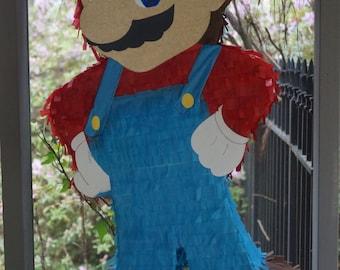 Mario Pinata, Super Mario Pinata, Mario Piñata, Piñata de Mario, Super Mario Bros, Mario, Pinata