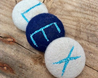 Personalised buttons, Letter buttons, aphabet buttons, childrens buttons,