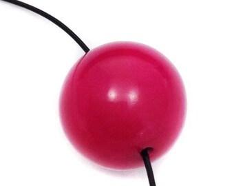 Taguaperle, pink, 20mm, 1 piece