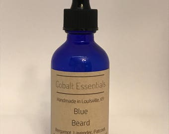Blue Beard - Beard Oil - Beard Softener - Beard Cleaner - Essential Oils - Skincare - Beard Care