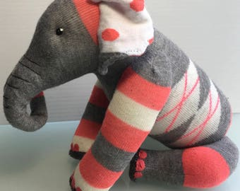 One of a kind sock toys designed by you.  Take part in the creative process by requesting a made to order stuffie. I love the challenge!