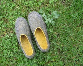 Felted Slippers Wool Slippers, House Wool Shoes, House Slippers women, Wet Felted Slippers Shoes women, Best Sellers Optimist Gift Wife