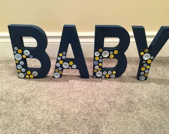 Decorative BABY Letters