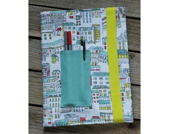 Composition notebook cover - City
