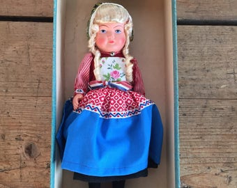 Vintage Authentic Dutch Girl in Box Never Used