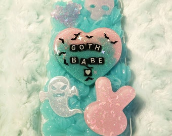 Goth Babe iPhone 6/s Plus Decoden Phone Case