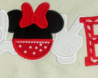 Love Mouse Head Girl