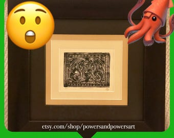 The Ancient Cthulhu Framed Print
