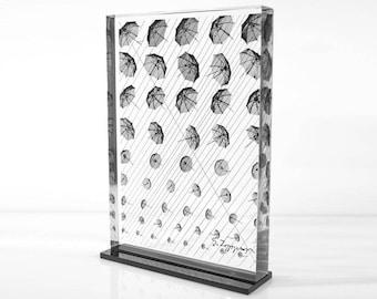 Umbrellas - detail (print 20x25)