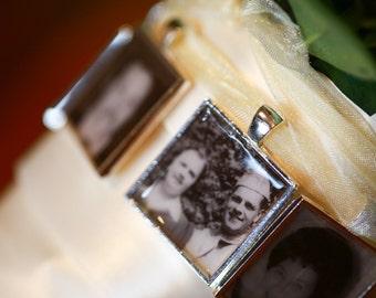 Wedding Bouquet Photo Charm - Bouquet Picture Charm - Photo Bouquet Charm - Boutonniere Charms - Bridal Bouquet Charm