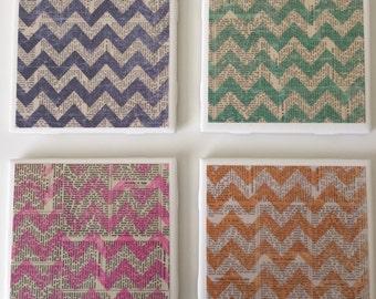Chevron Tile Coasters