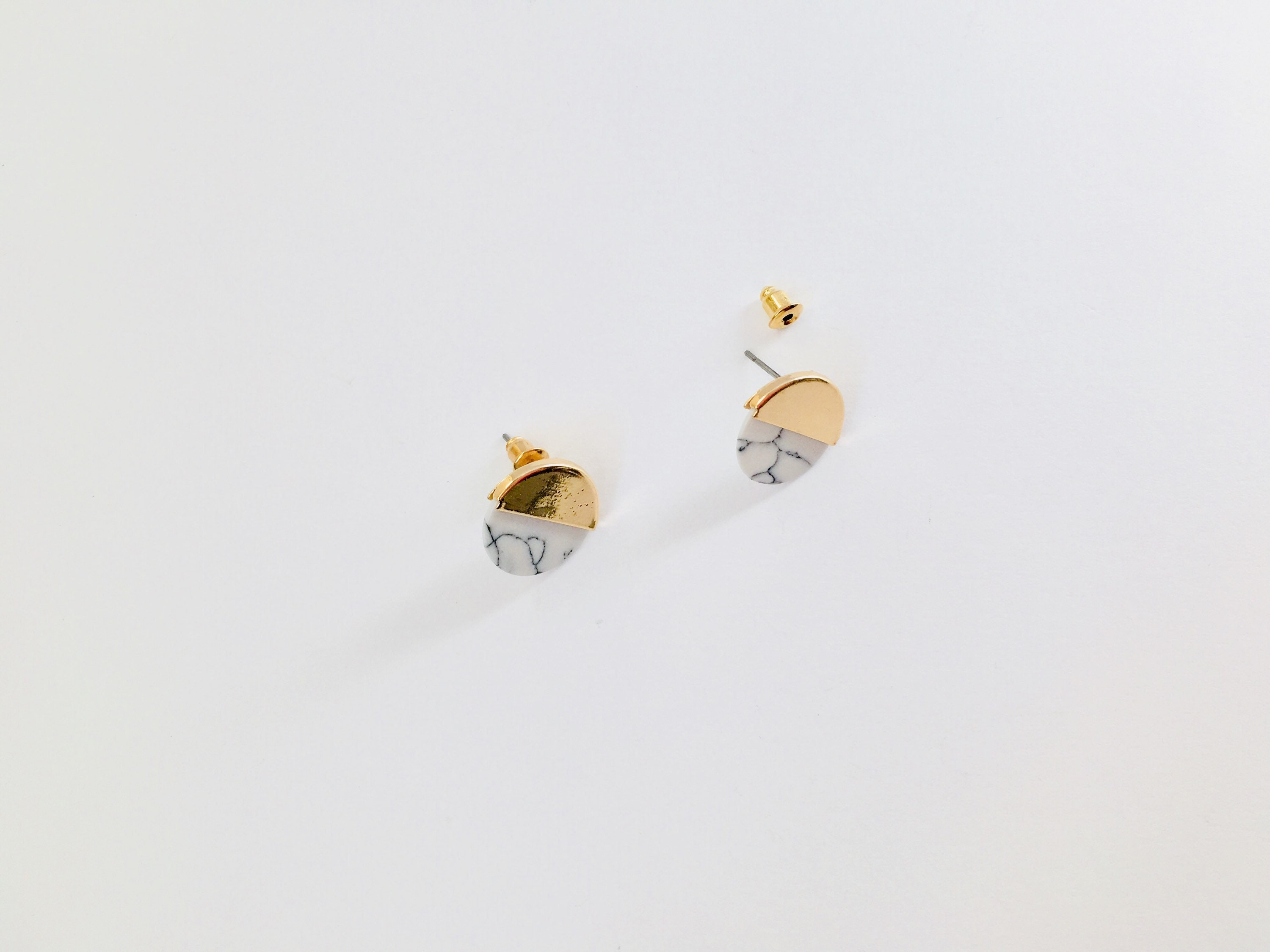 handmade online with livemaster earrings pearls buy white on shop gold item metal matte