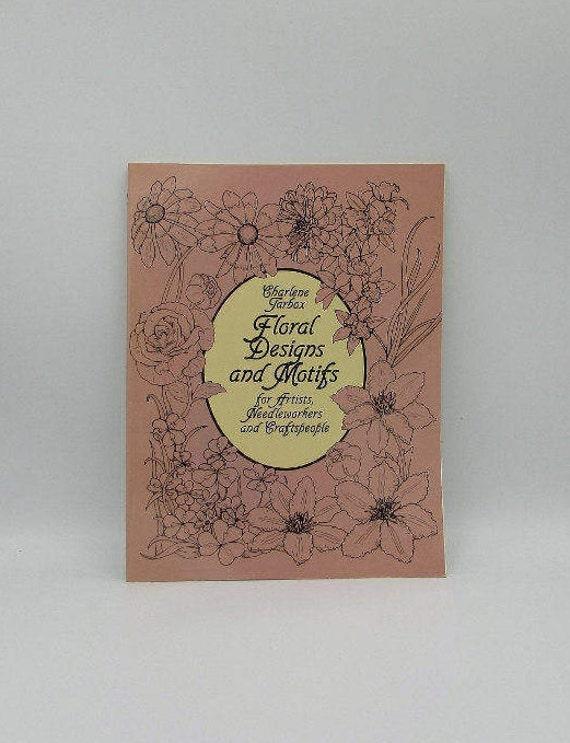 Florales diseños y motivos del arte libro para artistas