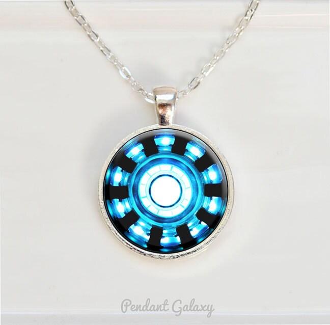 Iron man inspired arc reactor pendant tony stark arc reactor zoom aloadofball Images