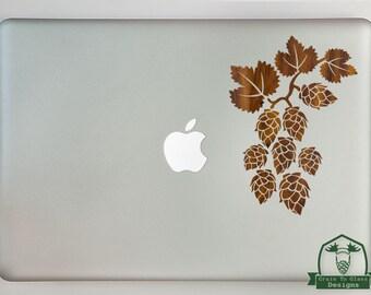 Hops Vine Macbook Laptop Decal