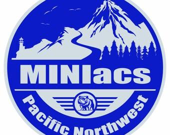 Stickers- PNW MINIacs
