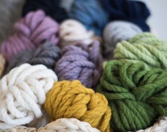 Homelea Bliss Chunky Yarn - 100g Mini Skeins - soft merino wool, Australian made and grown