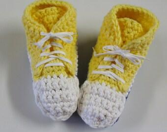 PATRON PDF no 3 Pantoufles espadrilles hautes au crochet pour adultes, en français, par 3petitesmailles, chaussons