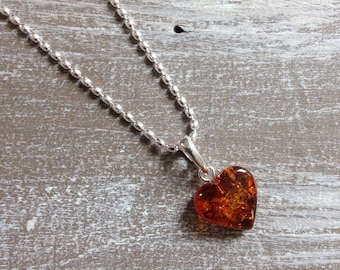 Necklace amber S