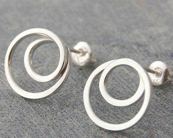 Sterling Silver - Casual Studs