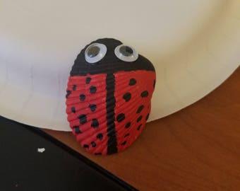 Ladybug Seashell