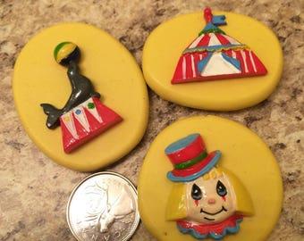 Circus Mold Set silicone