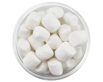 Tiny White Marshmallows - little white marshmallow sprinkles, marshmallow sprinkles, miniature marshmallows, mini marshmallows
