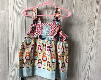 2T - Russian dolls knot dress