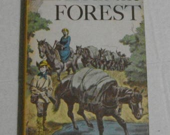 Fear in the Forest by Cateau De Leeuw Illustrated by L. Vosburgh Vintage Hardcover with Dust Jacket Weekly Reader  Book