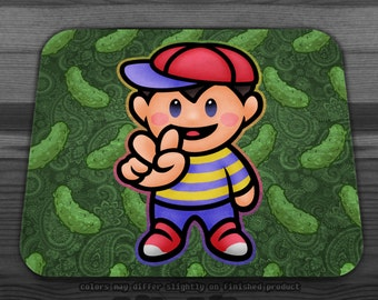 Earthbound Fuzzy Pickles Mousepad