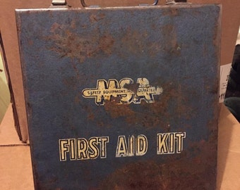 Vintage (Mine Safety Appliances)  MSA First Aid Kit