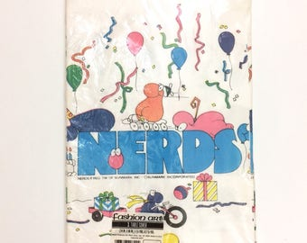 Vintage NERDS Tablecloth
