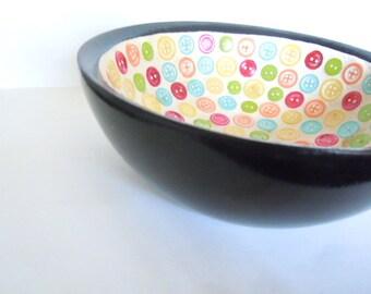 Button Art Bowl