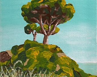 Tree In Albufeira, Portugal (ORIGINAL DIGITAL DOWNLOAD) by Mike Kraus