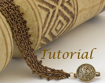 Beaded Bracelet Tutorial Net of Dreams Digital Download