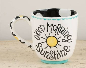 Good Morning Sunshine Jumbo Mug