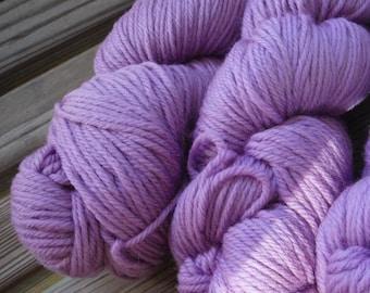 WORSTED Weight Yarn - Merino Superwash - 100g / 230 yards -  Kraemer Summit Hill - Flourite