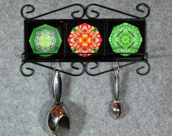 Dragonfly Themed Towel Rack Cup Rack Spice Rack Bathroom Decor Kitchen Decor Unique Home Decor Personalized Versatile Nature Theme