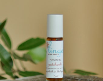 Patchouli Perfume Roll On - Aged Essential Oil - Natural Perfume