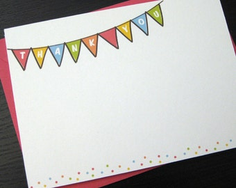 little celebration thank you notecards