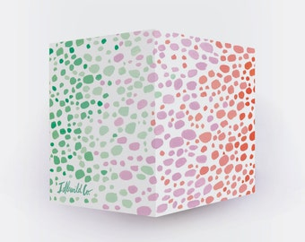 Speckles Prism Sticky Note Cube (650 pages)