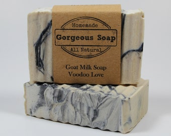 Voodoo Love Goat Milk Soap - All Natural Soap, Handmade Soap, Homemade Soap, Handcrafted Soap