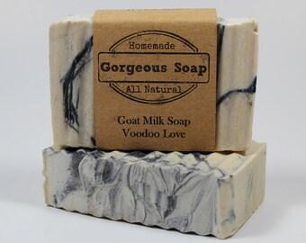 Vaudou amour savon au lait de chèvre - tous les savon naturel, savon, savon maison, fabriqués à la main au savon