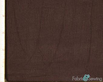 "Brown Knit Slub Jersey Fabric 2 Way Stretch Rayon Slub 6 Oz 58-60"" 780165"