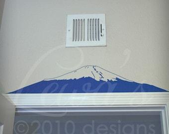 Mount Fuji Wall Decal